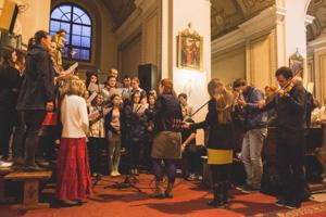 zbor v akcii