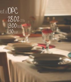 Nedeľný obed v DPC 28.02