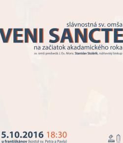 Veni Sancte 2016