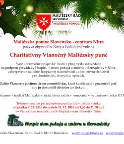 Charitatívny Vianočný Maltézsky punč