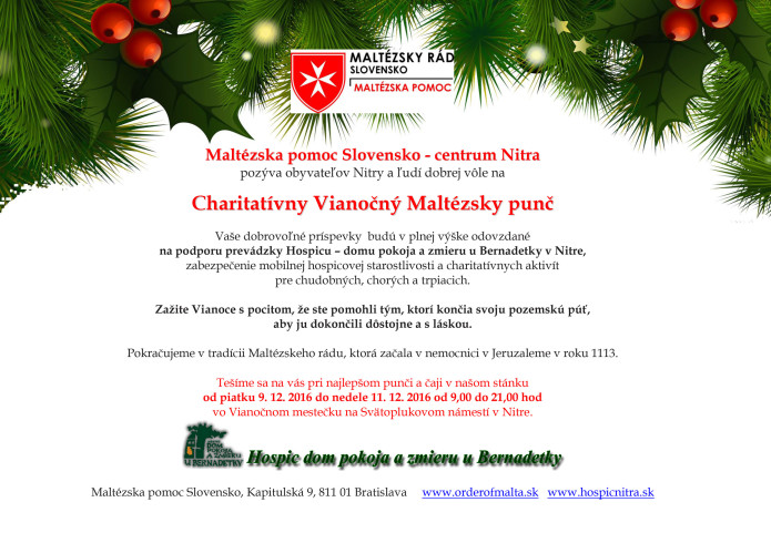 Pozvanka_charitativny_Vianocny_maltezsky_punc_Nitra_2016