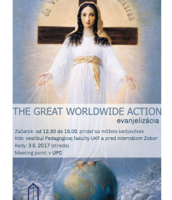 The great worldwide action – evanjelizácia