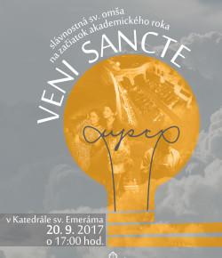VENI SANCTE 2017
