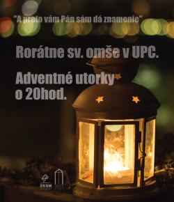 Rorátna sv. omša – 12. 12. 2017