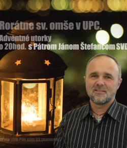 Rorátna sv. omša – 5. 12. 2017
