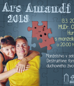 ARS AMANDI 06.03. 2018 S manželmi Hunákovcami