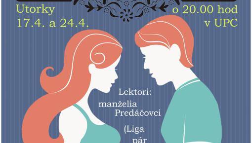 Workshop pre dievčatá a snúbencov