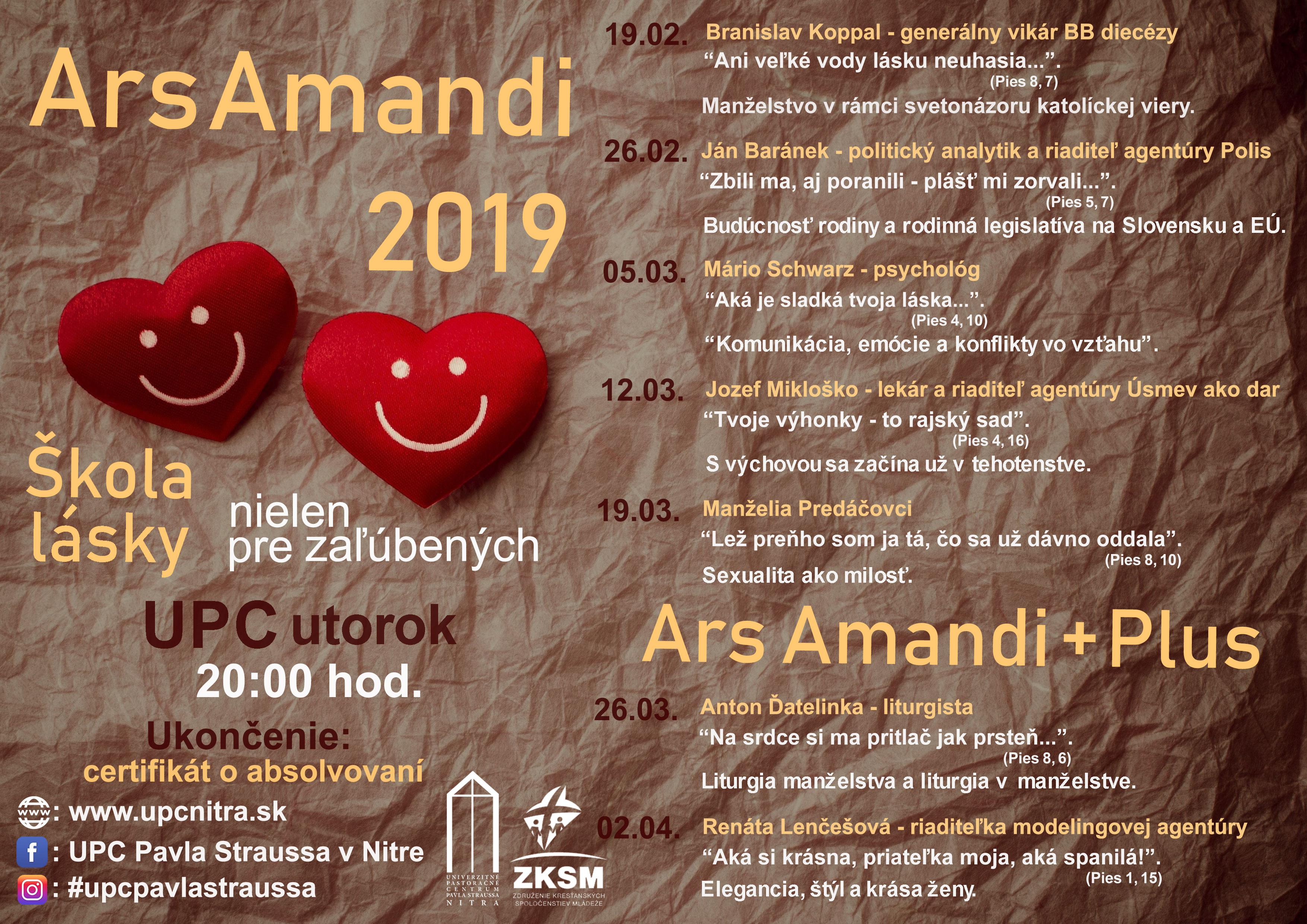 ARS AMANDI 2019