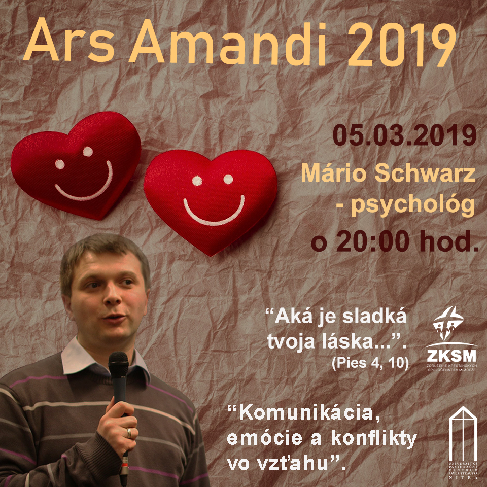 Ars Amandi 05.03. – Mário Schwarz