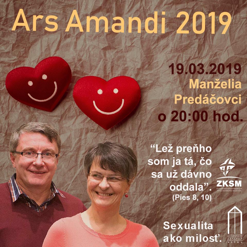 Ars Amandi 19.03.2019 – Manželia Predáčovci