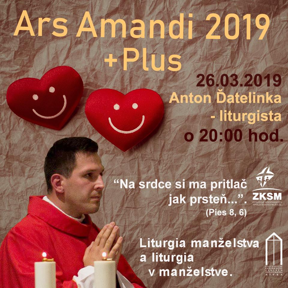 Ars Amandi 26.03.2019 – Anton Ďatelinka