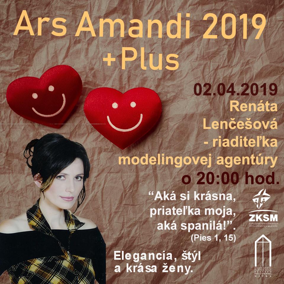 Ars Amandi 02.04.2019 – Renáta Lenčešová