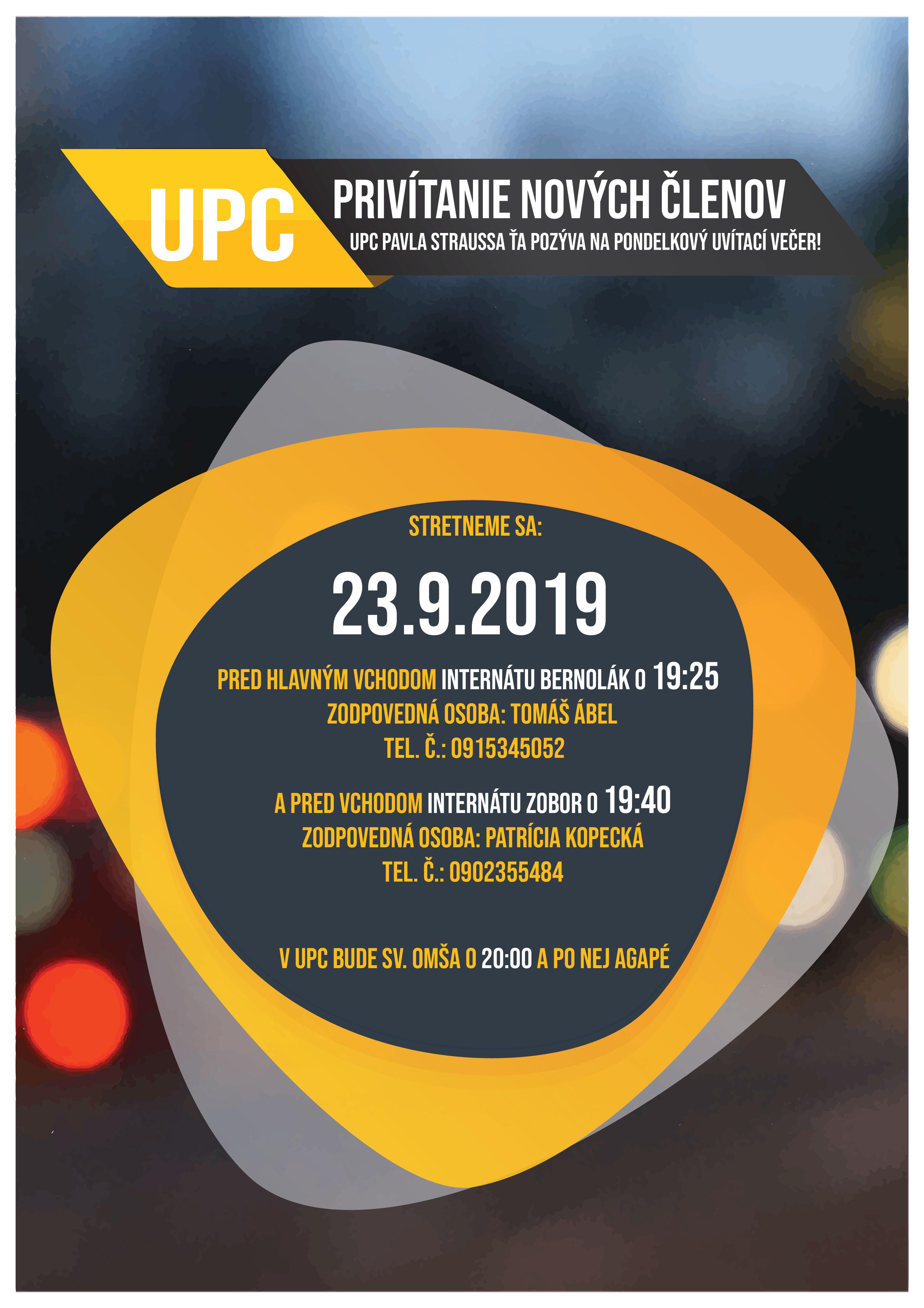 Uvítacie UPC Stretko