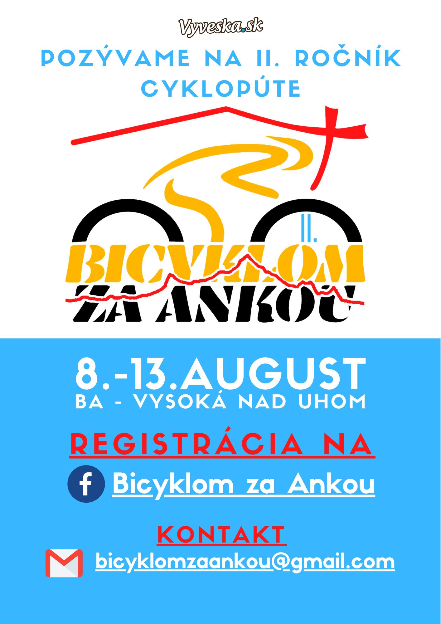 Bicyklom za Ankou